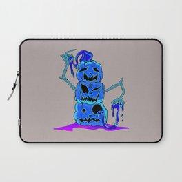 Pumpkin Stack dark Laptop Sleeve