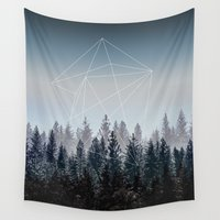 woods Wall Tapestries featuring Woods by Mareike Böhmer Photography