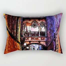 Barcelona, Gothic Quarter Rectangular Pillow