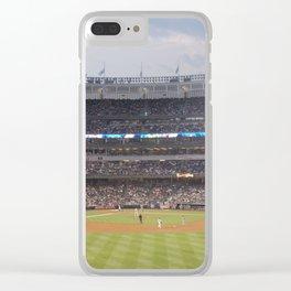 Yankee Stadium Clear iPhone Case