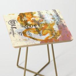 follow @ art Side Table