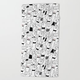 Rock and Roll: Concert Beach Towel