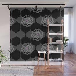 I DREAM OF GENIE - BLACK/GREY/PINK Wall Mural