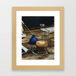 Thanks a Latte Framed Art Print