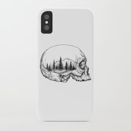 SKULL/FOREST iPhone Case