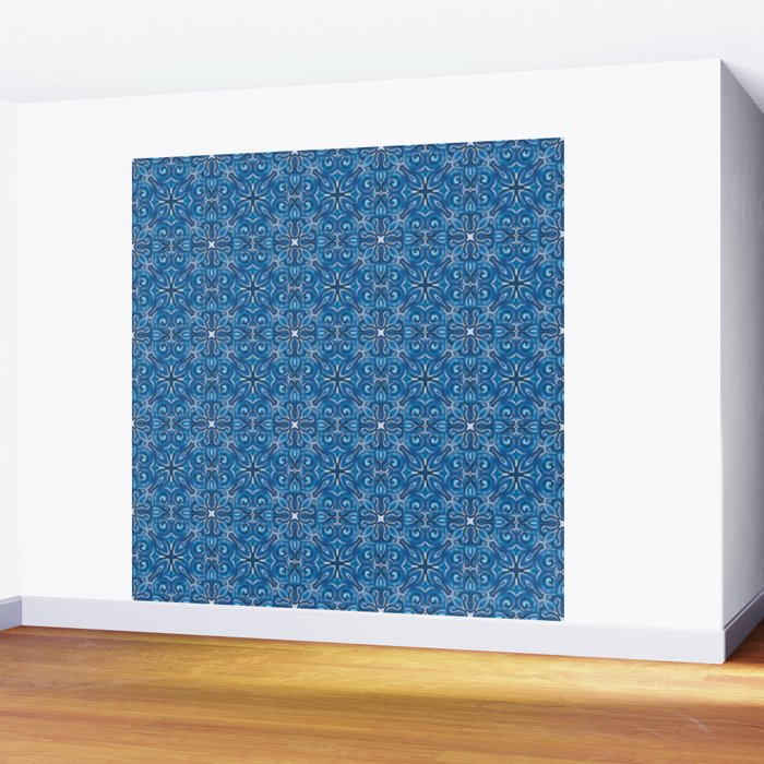 Swirls Pattern Wall Mural