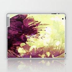 Circle of flowers Laptop & iPad Skin