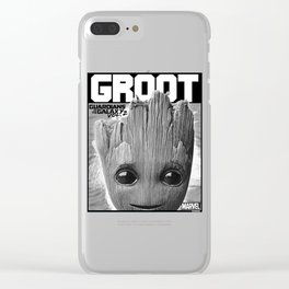 Guardians of Galaxy 2 Innocent Graphic Clear iPhone Case