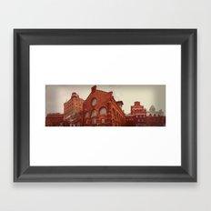 Industriromantik: Sockerbruket Framed Art Print