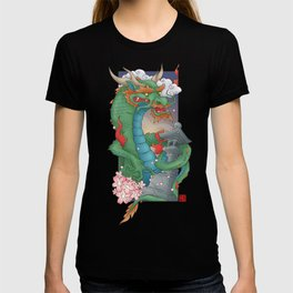 Dragon of Sakura Temple T-shirt