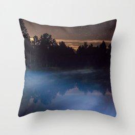 Magic Mist Throw Pillow