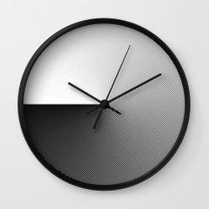 B&W 001 Wall Clock