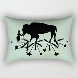 Buffalo Soldier Rectangular Pillow