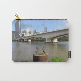 Brisbane River Carry-All Pouch