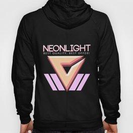 NEONLIGHT (Mock Blank VHS Poster) Hoody