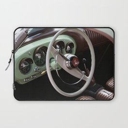 Vintage Kaiser Darrin Automobile Interior Laptop Sleeve