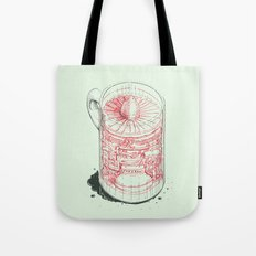 Coffee Jet Tote Bag