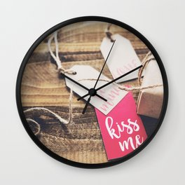 Valentine's Day Gift Photography Wall Clock