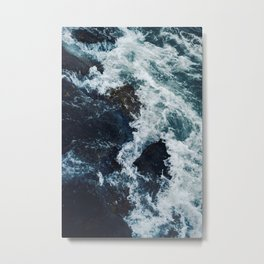 Ebb and Flow Metal Print