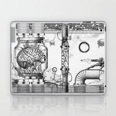 Mother Brain Super Metroid Engraving Scene Laptop & iPad Skin