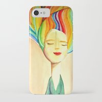grace iPhone & iPod Cases featuring grace by sylvie demers