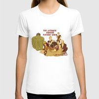 rocky horror picture show T-shirts featuring The Avenger Horror Picture Show by Leigh Lahav