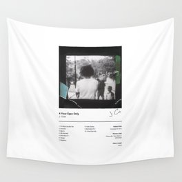 J. Cole - 4 Your Eyez Only (Album Cover) Hip Hop Art Music Wall Tapestry