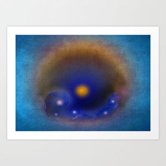 Magic Wave Art Print