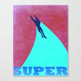 Heroic Men #1 Canvas Print