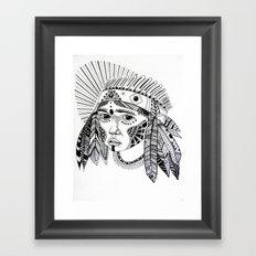 KIENKE. Framed Art Print