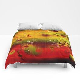 Experiment In Oils 01 Comforters