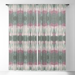 Beetle Shibori Sheer Curtain