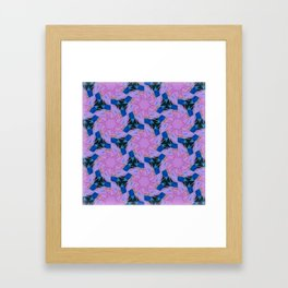 Kaleidoscope Eyes Framed Art Print