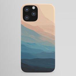 Blue Waves In Desert Peaks iPhone Case