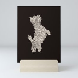 Here boy! Mini Art Print