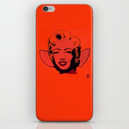 Red Angel Marilyn iPhone Skin