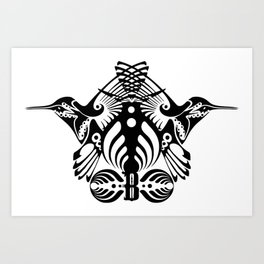 Bassnectar Family Crest Art Print