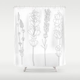 growth and change Shower Curtain