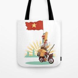 Vietnamese Transport Tote Bag