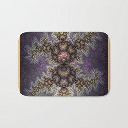 Magic in the air, fractal pattern abstract Bath Mat