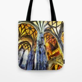 Vienna Cathedral Vincent Van Gogh Tote Bag
