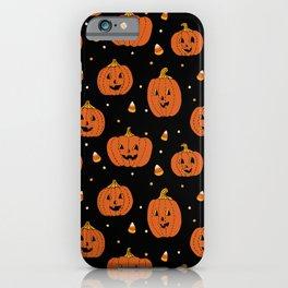 Happy Pumpkins iPhone Case