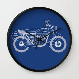 Wind to the Wave Wall Clock