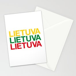 LITHUANIA Stationery Cards