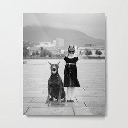 Batgirl II  Metal Print