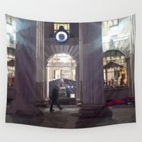 dublin Wall Tapestries featuring Christmas at the GPO, Dublin 2014 by Declan Kerr - Art From Ireland