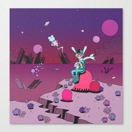 Sci-Fi Fantasy Canvas Print