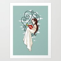 fairy tale Art Prints featuring Fairy Tale by Freeminds