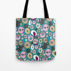 Donut Pattern Tote Bag