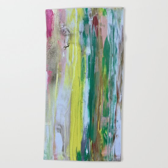 Abstract Painting #2 Beach Towel
